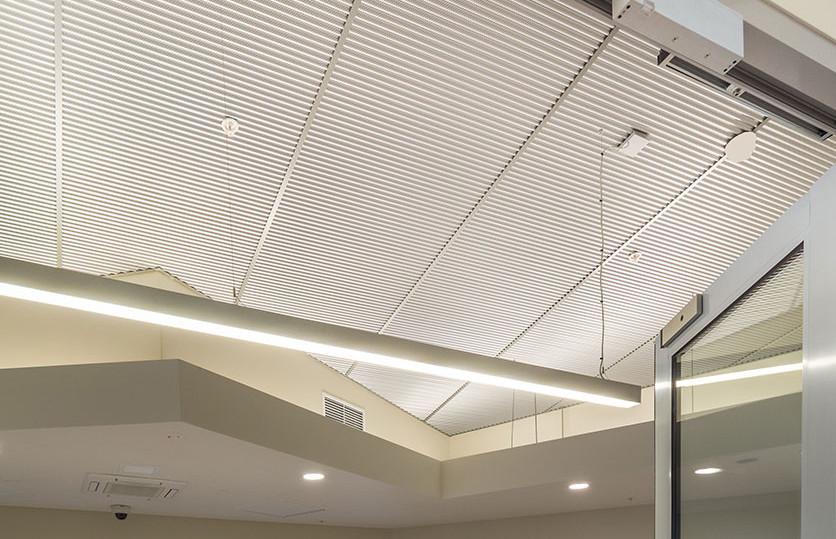 RippleTone Acoustic Metal Ceiling by Renhurst