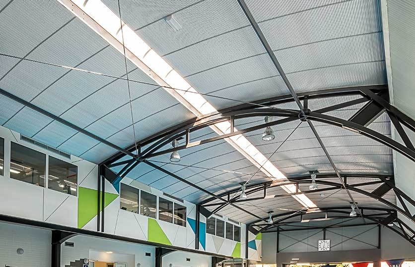 Ripplesound Acoustic Metal Ceiling By Renhurst